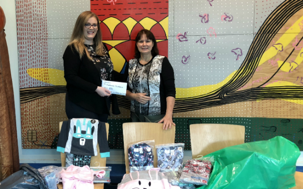 Kids cosy this winter thanks to generous folk at Watercare