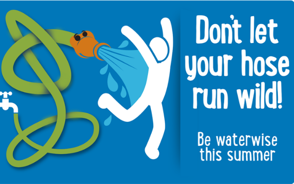 Don't let your hose run wild! Be waterwise this summer