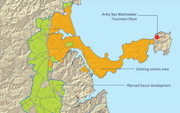 Wastewater servicing project for Whangaparaoa and surrounding growth areas