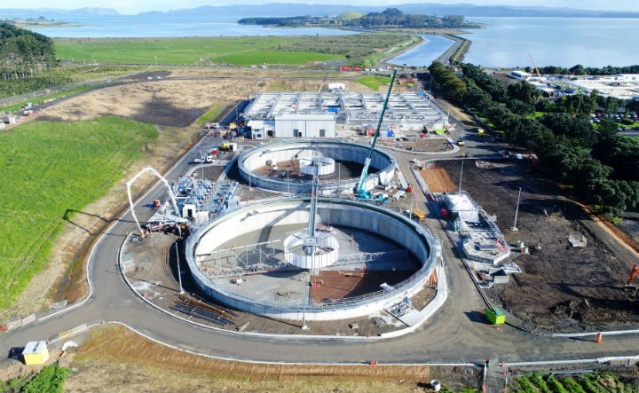 The Mangere biological nutrient removal project