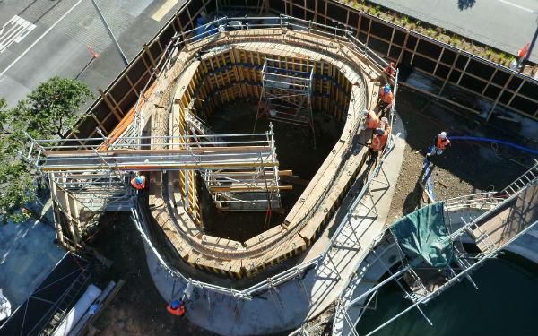 Wynyard Quarter and Halsey Street wastewater upgrades